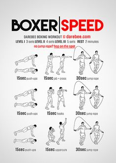 Boxer Speed Workout Más