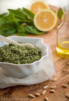 Classic basil pesto. Versatile, easy and fresh. Check out my post for ...