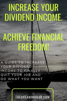 The list of ideas to increase your dividend income - passive income ideas Early Retirement, Retirement Funny, Retirement Planning, Financial Peace, Financial Asset, Financial Tips, Dividend Investing, Work From Home Opportunities, Thing 1