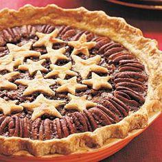Star Pecan Pie Recipe   MyRecipes.com -- I'm always looking for a quality pecan pie recipe!