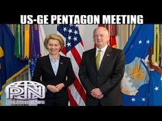 Jim Mattis Hosts German Defense Minister Leyen