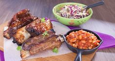 These tender Beef Short Ribs with Homemade Baked Beans will melt in your mouth. Recipe courtesy of Better Homes and Gardens. Fall Recipes, Dinner Recipes, Homemade Baked Beans, Cabbage Head, Beef Short Ribs, Beef Dishes, Winter Food, Food Porn, Pork