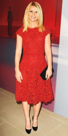 Claire Danes's Best Red Carpet Looks Ever - In Valentino, 2011 from #InStyle