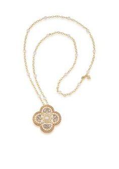 Carolee  Casablanca Cachet Long Pendant Necklace