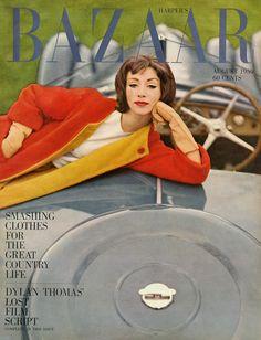 Ruth Neumann~Derujinsky By Gleb Derujinsky Harper's Bazaar  August 1959