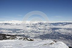 #View From #Top Of #Gold #Corner 2.142m #Spittal #Carinthia #Austria Down Into The #Valley In #Winter @dreamstime #dreamstime #ktr15 @carinzia #nature #landscape #season #outdoor #snow #wonderland #skiing #hiking #vacation #holidays #stock #photo #portfolio #download #hires #royaltyfree