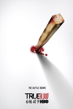 Cartaz promove a sexta temporada de True Blood