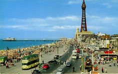 John Hinde postcards of Blackpool