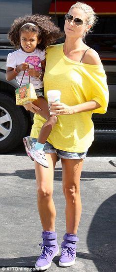 Heidi Klum #style #Mommy #Healthy