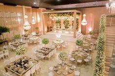 Decoração clássica: decoração verde e branca Foto: Michel Castro