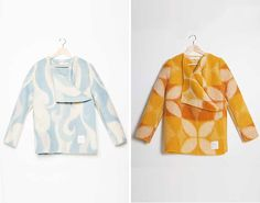 These Designers Turn Old Blankets into Coats via Brit + Co.