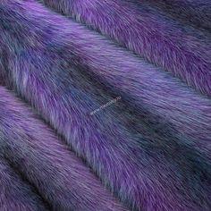 Куница крашеная фиолетовая