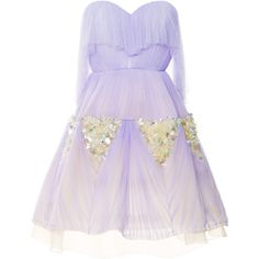 DELPOZO Sweetheart Party Dress ($8,900) ❤ liked on Polyvore featuring dresses, delpozo, purple, short dresses, strapless cocktail dresses, sheer cocktail dress, short cocktail dresses and purple cocktail dresses