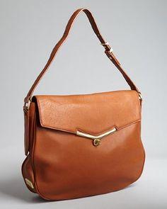 Botkier - cinnamon leather 'Valentina' medium hobo bag