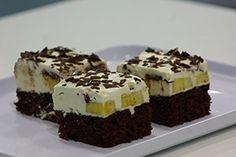 Lambada koláček s banánem a čokoládou