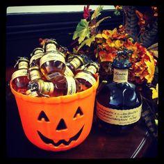 Trick or Treat Blanton's style Blanton's Bourbon, Bartender Drinks, Whiskey Brands, Halloween 2019, Let Them Eat Cake, Tis The Season, Whisky, Beverages, Treats