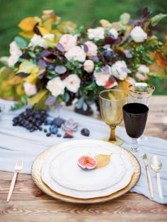 Autumnal Wedding Inspiration by Olga Siyanko