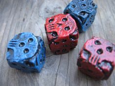 hand made blue skull dice oogie boogie dice by FairyTaleNightmares Kevin Cook, Crane, Oogie Boogie, Dice Games, Hand Cast, Skull And Bones, Lilo And Stitch, Nightmare Before Christmas, Gift For Lover