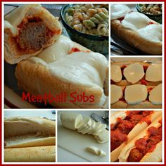 Kandy's Kitchen Kreations: Meatball Subs