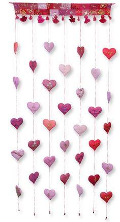 Cortina Coração