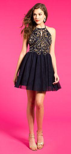 Beaded Motif Bodice Dress #camillelavie