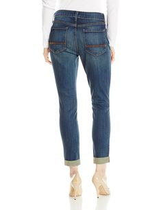 Women's Clothing Nydj Not Your Daughters Jeans 18w White Denim Embellished Cuffed Capri Vivid And Great In Style