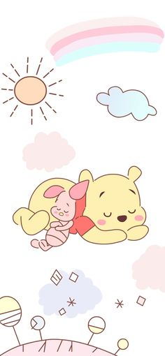 trendy wallpaper iphone disney winnie the pooh words Winnie The Pooh Drawing, Piglet Winnie The Pooh, Winne The Pooh, Disney Winnie The Pooh, Pooh Bear, Disney Phone Wallpaper, Cartoon Wallpaper Iphone, Cute Cartoon Wallpapers, Iphone Wallpapers