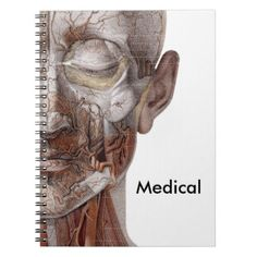 #nurse - #Skinless Face Spiral Notebook