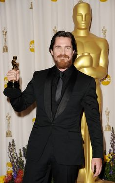 """Christian Bale - Best Supporting Actor Oscar for """"The Fighter"""" (2010)"""