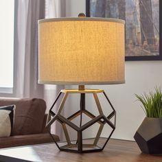 "Mercury Row Creek Classics 22.5"" H Table Lamp with Drum Shade"