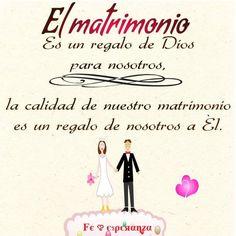 El matrimonio es un don de Dios a nosotros; la calidad de nuestro matrimonio es un regalo de nosotros a Él. Las promesas del Señor se extienden a todos aquellos que siguen el modelo de vida que construye relaciones matrimoniales felices y sagradas. Tales bendiciones llegan como resultados deleitables y predecibles por vivir fielmente el evangelio de Jesucristo.
