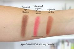 Kjaer Weis Cream Blush – Swatches Joyful, Sun Touched & Lovely ...