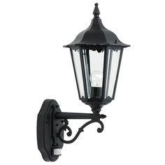 Endon Burford PIR Wall Light for sale online Outdoor Wall Lantern, Outdoor Wall Lighting, Exterior Lighting, Outdoor Walls, Lighting Superstore, Outdoor Light Fixtures, Light Sensor, Light Fittings, Floor Lamp