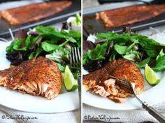Blackened Salmon (Homemade Seasoning)