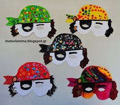 Halloween Crafts, Masks, Blog, Carnival, Activities, Crafting, Blogging, Face Masks