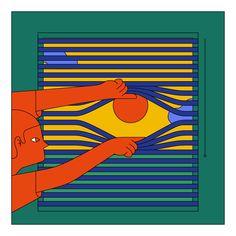 "Chilean illustrator Camilo Huinca's stylised portraits of ""real moments"" - nsc - Art Art Inspo, Kunst Inspo, Inspiration Art, Graphic Design Inspiration, Art And Illustration, Illustration Design Graphique, Illustrations And Posters, Portrait Illustration, Psychedelic Art"