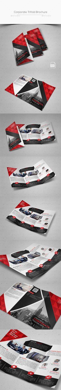 Corporate Trifold Brochure - Corporate Brochures   Download: https://graphicriver.net/item/corporate-trifold-brochure/18749919?ref=sinzo