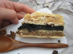 Flódni (layered pastry)  A Hungarian-Jewish pastry, traditionally made of four layers: walnut, apple, poppyseed, and jam. Why it's awesome: Why choose a filling when you can have them all in one dessert?!