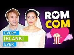 EVERY ROMANTIC COMEDY EVER Witty One Liners, Smosh, Elementary Schools, Breakup, Videos, Night Out, Comedy, Romantic, Guys