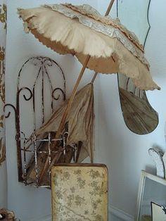 Vintage parasol.