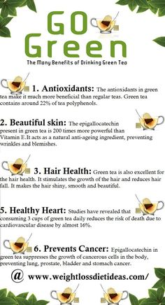 Ultimate Guide To Green Tea – Benefits, Weight Loss & Preparation<------- I am seriously addicted to green tea