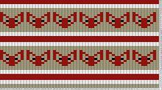 Tricksy Knitter Charts: Foxes Grey by Veera Romppainen