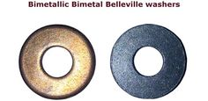 Bimetallic Washers Bimetal Washers Belleville washers #BimetallicWashers #BimetalWashers #Bellevillewashers  We offer all types of Bimetal washers bimetallic washers Copper /Aluminium washers Bimetallic contacts pressed parts