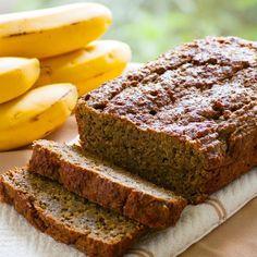 Roasted Chia Banana Bread