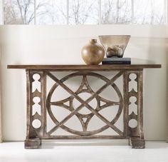 Hooker Furniture Living Room Melange Rafferty Console 638-85001