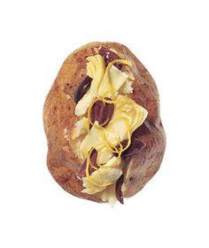 Baked Potatoes With Artichoke, Olive, and Lemon | RealSimple.com