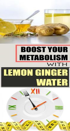 Boost Your Metabolism With Lemon Ginger Water - Page 2 of 2 - Drink Desserts Healthy Living Tips, Healthy Tips, Healthy Recipes, Fast Recipes, Healthy Eating, Healthy Food, Natural Health Remedies, Herbal Remedies, Metabolism