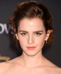 """Emma Watson's Hair and Makeup Puts the """"Beauty"""" in<em> Beauty and the Beast</em>"""