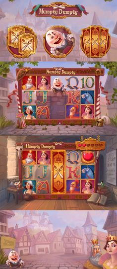 Play the beautiful Humpty Dumpty slot now available at BetVictor Casino.