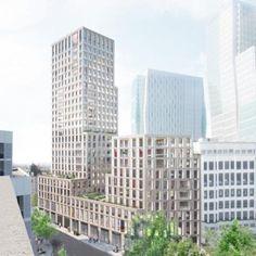 Max Dudler Architekt - Neubau Wohnhochhaus Stiftstrasse